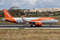 easyJet  Airbus A320-251N 'G-UZHB' LMML - 14.05.2019 (Chris_Camille) Tags: runway pilot pilotstories aviation avgeek a320 canon canonphotography canonaviation withcanonyoucan red clouds airline maltese islands canon5d aviationgeek mla airport takeoff fly sky plane aircraft airplane maltairport spotting planespotting registrations spottinglog