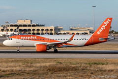 EasyJet Airbus A320-251N 'G-UZHS' LMML - 14.05.2019 (Chris_Camille) Tags: runway pilot pilotstories aviation avgeek a320 canon canonphotography canonaviation withcanonyoucan red clouds airline maltese islands canon5d aviationgeek mla airport takeoff fly sky plane aircraft airplane maltairport spotting planespotting registrations spottinglog
