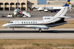 Private Dassault Falcon 50 'VQ-BZE' LMML - 14.05.2019 (Chris_Camille) Tags: runway pilot pilotstories aviation avgeek a320 canon canonphotography canonaviation withcanonyoucan red clouds airline maltese islands canon5d aviationgeek mla airport takeoff fly sky plane aircraft airplane maltairport spotting planespotting registrations spottinglog