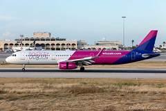 Wizz Air Airbus A321-231 'HA-LXK' LMML - 14.05.2019 (Chris_Camille) Tags: runway pilot pilotstories aviation avgeek a320 canon canonphotography canonaviation withcanonyoucan red clouds airline maltese islands canon5d aviationgeek mla airport takeoff fly sky plane aircraft airplane maltairport spotting planespotting registrations spottinglog