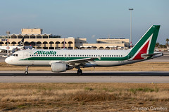 Alitalia Airbus A320-216 'EI-DTG' LMML - 14.05.2019 (Chris_Camille) Tags: runway pilot pilotstories aviation avgeek a320 canon canonphotography canonaviation withcanonyoucan red clouds airline maltese islands canon5d aviationgeek mla airport takeoff fly sky plane aircraft airplane maltairport spotting planespotting registrations spottinglog