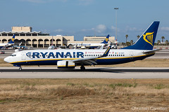 Ryanair Boeing 737-8AS 'EI-DHT' LMML - 14.05.2019 (Chris_Camille) Tags: runway pilot pilotstories aviation avgeek a320 canon canonphotography canonaviation withcanonyoucan red clouds airline maltese islands canon5d aviationgeek mla airport takeoff fly sky plane aircraft airplane maltairport spotting planespotting registrations spottinglog