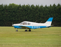 Piper Cherokee PA-28. (marlin.357) Tags: pa28 plane flying pilot nikon d600 gceeu pipercherokee whitewaltham piperwarrior westlondonaeroclub airfield