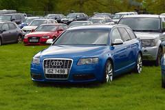 2009 Audi S6 Quatteo 5.2 V10 (>Tiarnán 21<) Tags: audi s6 v10 car sky rare 52 blue igz7498 igz 7498 grass