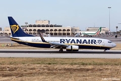 Ryanair Boeing 737-8AS  |  EI-GDT  |  LMML (Melvin Debono) Tags: ryanair boeing 7378as | eigdt lmml cn 44815 melvin debono spotting canon eos 5d mark iv 100400mm plane planes photography airport airplane aviation aircraft mla malta