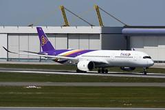 HS-THG Airbus A350-941 EBBR 14-05-19 (MarkP51) Tags: hsthg airbus a350941 a350 thai tg tha thaiairways brussels zaventem airport ebbr bru belgium airliner aircraft airplane plane image markp51 nikon d7200 nikonafp70300fx sunshine sunny