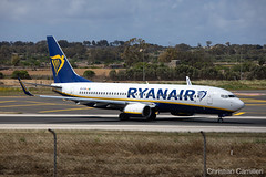 Ryanair Boeing 737-8AS 'EI-FIM' LMML - 16.05.2019 (Chris_Camille) Tags: runway pilot pilotstories aviation avgeek canon canonphotography canonaviation withcanonyoucan clouds airline maltese islands canon5d aviationgeek mla airport takeoff fly sky plane aircraft airplane maltairport spotting planespotting registrations spottinglog people photoadd ryanair lowcost boeing 737 7378as