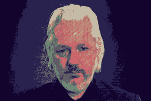 Julian Assange - prosecuted for committing journalism?, From FlickrPhotos