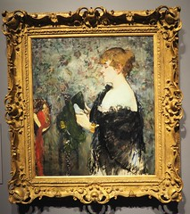 At the Milliner's (Brule Laker) Tags: chicago illinois art painting artinstituteofchicago michiganavenue