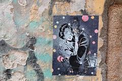 THE LOVERS (just.Luc) Tags: streetart urbanart italia italy italien italie italië milaan milan milano mailand lombardije lombardei lombardy lombardie lombardia wall muur mur mauer peeled patched europa europe