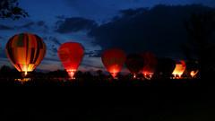 Błonia (2) (Krzysztof D.) Tags: polska poland polen podkarpacie podkarpackie subcarpathia karpatenvorland evening night noc nacht wieczór abend stalowawola balon balloon