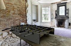 Foos (Baldran) Tags: abandoned vacant derelict decay ruin rural mansion urban exploration sanitarium