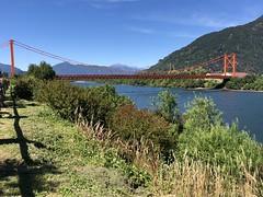 Puerto Chacabuco - Chile (morome7e) Tags: chile puerto chacabuco aysen patagonia tierra del fuego nature sea waterfall cascade bridge south america