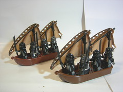 Orcs on Ships (Allen0937) Tags: lego moc lotr orc ship lordoftherings mordor minifigs