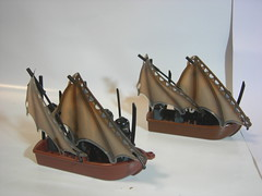 Orcs on Ships (Allen0937) Tags: lego moc lotr orc ship lordoftherings mordor
