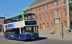 W293 PFS, Notts & Derby (ex Lothian) Volvo 35, Derby, 23rd. May 2019. (Crewcastrian) Tags: derby buses transport nottsderby volvo plaxton president w293pfs 35 wellglade