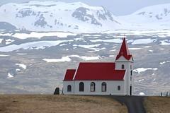 ICELAND - Hellissandur -Ingjaldshólskirkja (mda'skaly) Tags: landscape iceland church snaefellsnespeninsula travel islande eglise