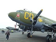 N47SJ (Gary Kenney Aviation) Tags: dakota dc3 c47 ww2 dday daks prestwick airport usaf n47sj