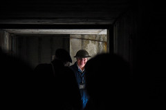 Brooklands Vintage Festival, May 2019 (Sean Sweeney, UK) Tags: brooklands museum surrey uk weybridge nikon d810 24120 dslr england vintage festival candid candids people air raid shelter arp low light vintagefestival