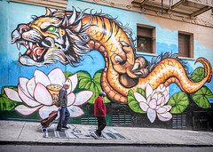 Chinatown in San Francisco 5.18.19 9 (Marcie Gonzalez) Tags: street art mural district people person walking sidewalk architecture san francisco california 2019 usa us north america marcie gonzalez marciegonzalez marciegonzalezphotography photography canon road trip chinatown china town chinese asian old streets building buildings colorful colors