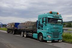 DAF XF 460 Becker met kenteken MYK-UB 223 in Brohl-Lützing 26-05-2019 (marcelwijers) Tags: daf xf 460 becker met kenteken mykub 223 brohllützing 26052019 lkw truck trucks camion vrachtwagen vrachtauto