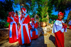 A group of Eritrean Christians on Mount Carmel israel (tchia sheffer) Tags: religious red christian ceremony christianboy
