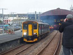150247 Penzance (Marky7890) Tags: gwr 150247 class150 sprinter 2a03 penzance railway cornwall cornishmainline train