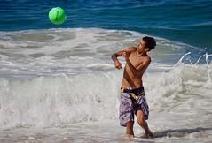 Brasil (alobos life) Tags: ball action copacabana nice beautiful cute brazilian boy garoto rio de janeiro brasil brazil skinny beach playa mar sea
