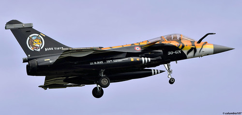 """DSC_0621 copyright: """"French Air Force Dassault Rafale C 75th Anniversary D Day Livery"""""""