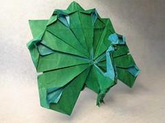 Pavo real (mrmicawer) Tags: papiroflexia origami papel peacock pavo real pájaro bird ave