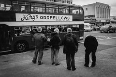 Oddfellows in Morecambe (Ian Livesey) Tags: 20190526 lancashire morecambe places streetphotography type vintagebus vintage
