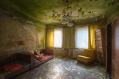cheap hotel (jkatanowski) Tags: urbex urban exploration europe decay derelict decaying decayed room indoor forgotten abandoned lost lostplace sony a7m2 destruction fungus mold