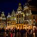 Grand-Place de Bruxelles la nuit