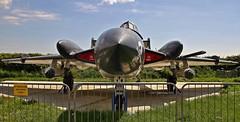 XJ580 DE HAVILLAND SEA VIXEN TANGMERE AVIATION MUSEUM (toowoomba surfer) Tags: jet aeroplane aviation aircraft museum airmuseum aviationmuseum