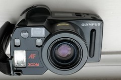 Olympus AZ-300 Superzoom (bigalid) Tags: olympus az300 superzoom 1988 film 35mm