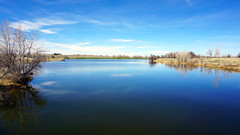 My Blue Heaven (dssken) Tags: ifttt 500px dotstarstudios bright sunny goodday outdoors blue sky lake reflection water spring color freshair sonyalpha coloradotography igcolor coloradogram glass colorado