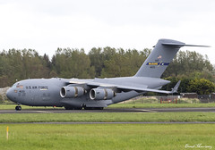 USAF C-17A 04-4133 (birrlad) Tags: shannon snn international airport ireland aircraft aviation airplane airplanes taxi taxiway takeoff departing departure runway prestwick boeing c17 c17a globemaster transport usaf airforce reach rch492 044133 andrews afb
