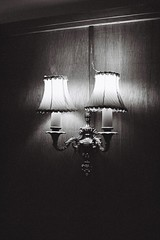 Lights (bigalid) Tags: film 35mm olympus az300 superzoom ilford xp2 c41 bw may 2019 lights