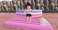 Kiddos arent and Summer lets go (Kaysha Yootz (Kid Blogger)) Tags: blog blogger sl secondlife bebe thimble toddleedoo toddler kid child last unicorn