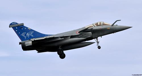 "DSC_0649 copyright: ""French Air Force Dassault Rafale C'"