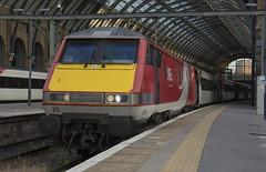 91125 (Lucas31 Transport Photography) Tags: trains railway class91 lner ecml kgx