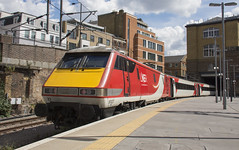 91127 (Lucas31 Transport Photography) Tags: trains railway class91 lner ecml kgx