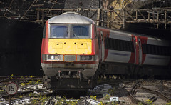 82210 (Lucas31 Transport Photography) Tags: trains railway class82 dvt lner ecml kgx