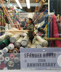 Spandex House (TheeErin) Tags: spandex house fashion district new york manhattan garment fabric textiles window retailer specializing stretch like lycra rayon bamboo fiber bolt garmentdistrict