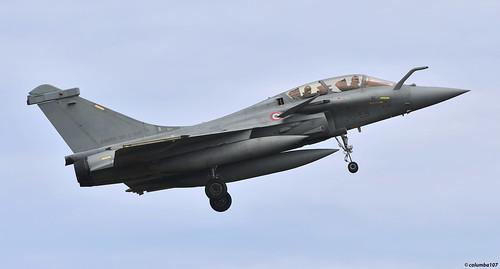 "DSC_0661 copyright: ""French Air Force Dassault  Rafale C"""
