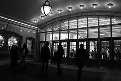 Grand Central Tones (InspiredLamb) Tags: grandcentralstation grandcentral blackandwhite streetphotography street travel life architecture