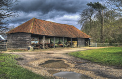 Cart Shed (nigdawphotography) Tags: cartlodge trailers farm farmyard higheaster essex cart shed cartshed