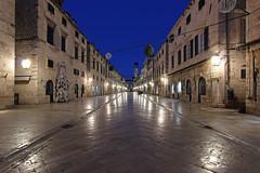 Stradun - Dubrovnik, Croatia (russ david) Tags: stradun street main dubrovnik croatia november 2018 old town balkans architecture adriatic sea unesco world heritage dalmatia dalmatian christmas blue hour hrvatska republic of republika travel