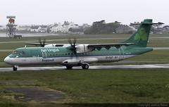 Aer Lingus Regional (Stobart Air) ATR 72-600 EI-FAT @ Isle of Man Airport (EGNS/IOM) (Joshua_Risker) Tags: isle man airport egns iom ronaldsway plane aircraft aviation avgeek planespotting aer lingus regional stobart air atr atr72 72600 at76 eifat