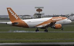 easyJet Airbus A319-111 G-EZBK @ Isle of Man Airport (EGNS/IOM) (Joshua_Risker) Tags: isle man airport egns iom ronaldsway plane aircraft aviation avgeek planespotting gezbk easyjet airbus a319 a319111